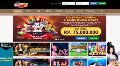 Vegas88 - Judi Casino Online Indonesia